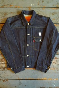 3548b60352 Levi s Levi s Vintage Clothing 1936 Type 1 Denim Jacket Rigid Selvedge Denim