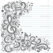 Music Notes and G Clef Sketchy Music Class Doodles. Vector Illustration on LIned , doodles Music Notes And G Clef Sketchy Music Class Doodles Stock Vector - Illustration of audio, heart: 27560173 Notebook Doodles, Note Doodles, Doodle Art Journals, Notebook Paper, Music Drawings, Doodle Drawings, Zentangle Patterns, Doodles Zentangles, Music Doodle
