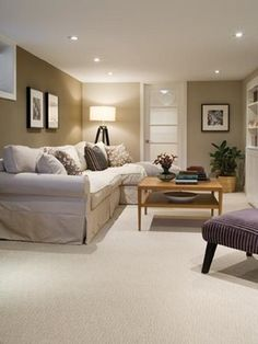 Basement renovations add value to your home and are affordable. Greater Toronto Contractors can create basement renovations that transform your space. Cozy Basement, Basement Makeover, Basement Renovations, Dark Basement, Basement Ideas, Basement Bathroom, Playroom Ideas, Basement Lighting, Basement House