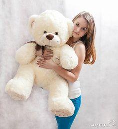 Большие плюшевые медведи, Мягкие игрушки мишки купить в Москве на Avito — Объявления на сайте Avito