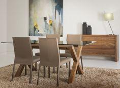 Table et 4 chaises CO453 - Ensembles table et 4 chaises - Salles à manger   La Galerie du Meuble
