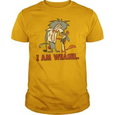 I Am Weasel - Buddies T-Shirts, Hoodies, Sweaters