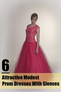 6 Attractive Modest Prom Dresses With Sleeves