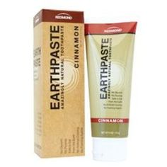 Earthpaste Amazingly Natural Toothpaste-Cinnamon 4 Ounces