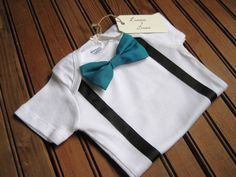 First Birthday Bow Tie Onesie with Suspenders, Suspender Onesie, Bow Tie Onesie, Baby Suspenders, Baby Bowtie Onesie, Baby Birthday Onesie