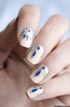nail art summer 2014