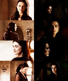 Morgana Pendragon. The contrast between Series 1 and Series 4