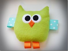 Cute owl baby toy!