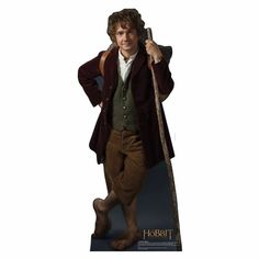 Bilbo Baggins The Hobbit An Unexpected Journey Life Sized Cardboard Cutout $34.95