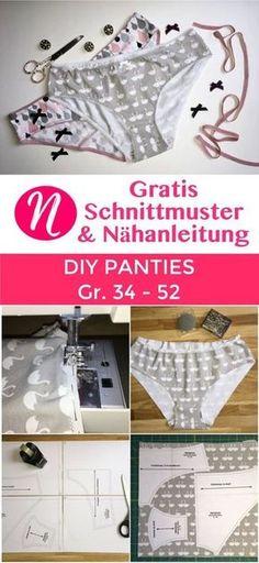 156 besten Nähen: Wäsche für Damen - Herren - Kinder Bilder auf ...