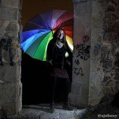 Pràctiques Foto Nocturna amb els Companys de Fotonit_BCN al Castellciuró de Molins de Rei Barcelona. Il.luminació Jordi Argila.