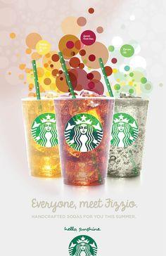 starbucks ad summer - Google Search Catering Design, Menu Design, Food Design, Food Branding, Branding Design, Frappuccino, Coffee Chalkboard, Coffee Advertising, Starbucks Menu