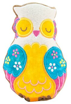 Stuffed Owl Workshop - Anita's Embroidery Workshop - Contact your Local Dealer to Sign Up!