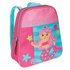 Hey, I found this really awesome Etsy listing at https://www.etsy.com/listing/509365039/mermaid-monogrammed-school-backpack