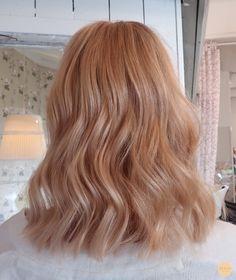 Light Copper Hair, Copper Blonde Hair, Ginger Blonde Hair, Copper Hair Colour, Dyed Blonde Hair, Balayage Hair Blonde, Pastel Hair, Pastel Blonde, Red Blonde