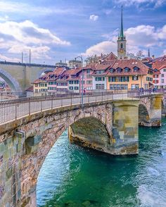 Old city view Bern