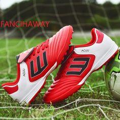 new product e53bf 2e783 FANCIHAWAY size35-45 Fotbollsstövlar Superfly TF High Ankle fotbollskläder  Men Sport Sneakers Kids Trainer Nya inomhus fotbollskor