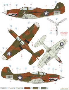 www.cybermodeler.com aircraft p-39 images p-39_profile02t.png