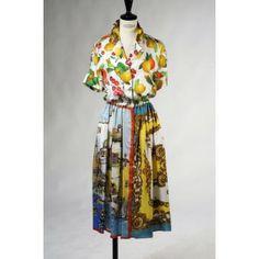 Seidenkleid von D&G, Style 2387 - Elle-Mode Bergisch Gladbach