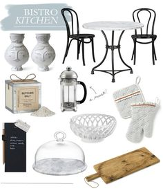 DETAILS // BISTRO KITCHEN french. bistro. kitchen. decor.