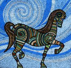 Pony #Mosaic By Irina Charmy icmosaics.com