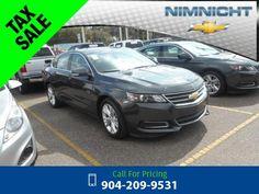 2015 Chevrolet Chevy Impala LT w/2LT Call for Price  miles 904-209-9531 Transmission: Automatic  #Chevrolet #Impala #used #cars #NimnichtChevrolet #Jacksonville #FL #tapcars