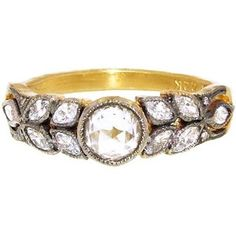 Cathy Waterman Diamond and leaf engagement ring via RingOBlog.com! (Engagement Rings)