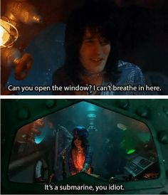 mighty boosh...thus show is so weird. When I worked grave yard it would come on and I never understood it!