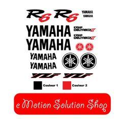 Kit Stickers Yamaha YZF R6