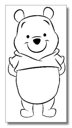 winnie the pooh coloring pages - Pooh Bear Coloring Pages Birthday