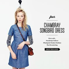Now I'm loving: Chambray Dresses | The Parallel Universes Resolution