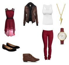 """Modern Gryffindor"" by midnightsdream ❤ liked on Polyvore featuring Bling Jewelry, FOSSIL, Accessorize and modern"