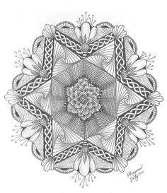 Lotus Flower Zendala