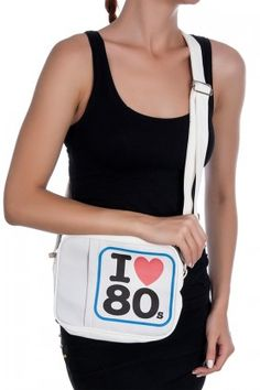 MATRAK SHOP I Love 80s Cepli Çanta Lidyana