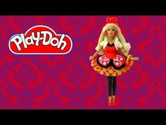 How to make Play Doh Barbie Life in the Dreamhouse Dress inspired by App...