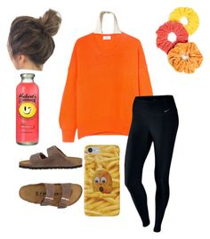 """""""Untitled #73"""" by faithjones1223 on Polyvore featuring Allude, NIKE, NamJosh, Birkenstock and Hollister Co."""