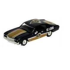St. Louis RAMS 1:64 scale Die-cast Ertl Collectibles Classic Rides 1970 Chevelle by NFL   $2.99