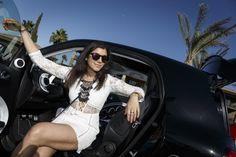 Coachella Festival with Smart Car/Mercedes Benz - The Style Traveller Coachella Festival, Festival Outfits, Festival Fashion, Mercedes Smart, Mercedes Benz, Elle Fashion, Fashion Editor, Grazia Magazine, Cali Girl