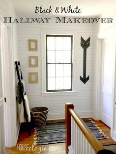 Hallway Makeover — Final Reveal! -- Houseologie.com
