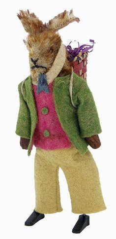 German Rabbit Windup Toy