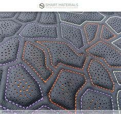 Smart Materials, we create leather, washable up to certified, 100 % made in Italy Automotive Upholstery, Car Upholstery, Sewing Leather, Leather Craft, Snake Painting, Deco Cuir, Smart Materials, Design Textile, Motorcycle Seats