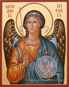 Learn to paint Christian icons in the Byzantine style with master iconographer, Phil Zimmerman. Religious Icons, Religious Art, Paint Icon, Russian Icons, Byzantine Icons, Orthodox Icons, Angel Art, St Michael, Christianity