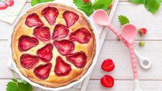 Jahodový tvarožník  | Recepty.sk