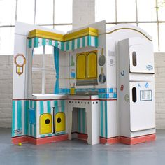 Pop N Play Kitchen from Michael Welsh, Founder and President, Build a Dream Playhouses, $50, now featured on Fab.