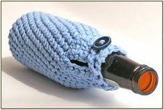 Crochet Beer Bottle Cozy