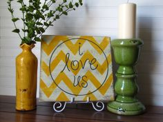 Chevron+Custom+Hand+Painted+Wooden+Sign++I+Love+by+MaggieLeeOnEtsy,+$30.00