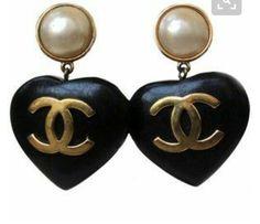 bff7bbc5dcb Vintage Chanel Earrings