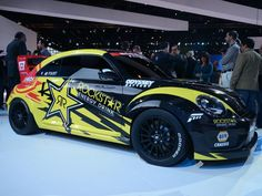 Tanner Foust Will Rallycross this 560-HP GRC Beetle