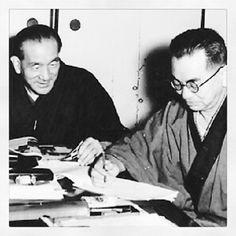 Yasujiro Ozu & Kôgo Noda. - @yotsuya21- #webstagram