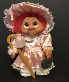 "8"" Little Bo Peep Storybook Collectors Edition W/Tag- Dam Norfin Troll Doll 1993 #Dam #TrollDoll"